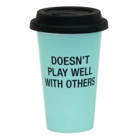 Doesn't Play Well With Others Thermal Mug