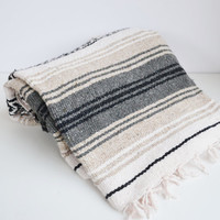 Vintage Mexican Southwestern Blanket Throw Blanket Mexican Rug Wall Tapestry