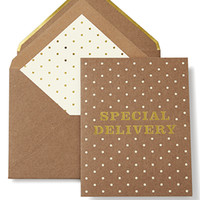 kate spade new york greeting card special delivery