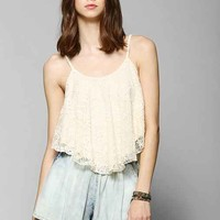 Pins And Needles Lace High/Low Cami-