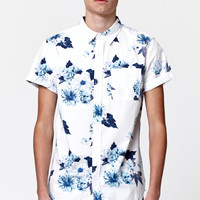 On The Byas Miller Floral Pocket Short Sleeve Button Up Shirt at PacSun.com