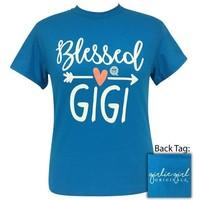 Girlie Girl Originals Preppy Blessed Gigi Arrow T-Shirt
