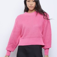 Politely Pink Sweater