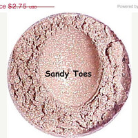 50% OFF SALE Mineral Eyeshadow Makeup Sandy Toes Glimmer