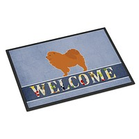 Chow Chow Welcome Indoor or Outdoor Mat 18x27 BB5555MAT