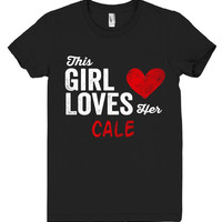 This Girl Loves her CALE Personalized T-Shirt