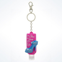 Disney Parks Keychain Hand Sanitizer Cinderella Shoe 1oz New With Tags