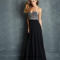 2014 Pretty Empire Sweetheart Black Prom Dress with Beading Style VMNT030,Beautiful Prom Dresses
