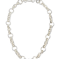 "Silver-Plated Coronation Chain Necklace, 18""L - Stephanie Kantis"
