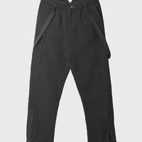 Professor. E - Frayed Trousers Type_02 ( Black )