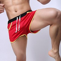Brand Clothing Men's Casual Shorts Household Man Shorts Pocket G-Strings Jocks Straps Inside Trunks Beach Shorts Quick-dry