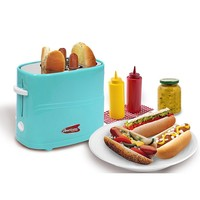 Elite Cuisine ECT-304BL MaxiMatic Hot Dog Toaster