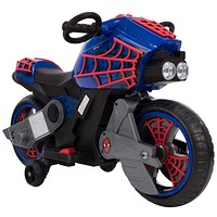 Kids Toddler 6V Battery Operated Powered Electric Ride On Spiderman Motorcycle Bike