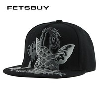 Trendy Winter Jacket FETSBUY embroidery cool flat baseball cap mens fitted hat Casual gorras snapbacks flag hat ourdoor hip hop snapback caps F137 AT_92_12