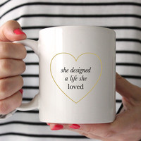 A Life She Loved Mug