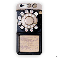 Vintage Payphone Retro Cute Cool For iPhone 6 / 6 Plus Case