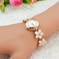 Bessky Women's Elegant Women Girl Bracelet Watch Quartz OL Ladies Wrist Watch