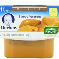 Gerber 1st Foods Sweet Potatoes, 5 Ounce (Pack of 8)