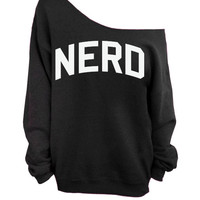 Nerd - Slouchy Oversized Sweater
