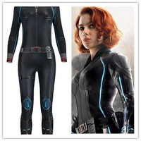 Avengers Infinity War Black Widow Catsuit Cosplay Costumes 3D Printing  Adult Girls Sexy Halloween Bodysuit Jumpsuit Masquerade