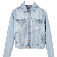 BASIC DENIM JACKET - BLAZERS & JACKETS - WOMAN -  Ireland