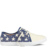 Converse - Chuck Taylor Riff - Low - Parchment/Navy/Red