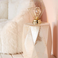 Serena Geo Caged Table Lamp | Urban Outfitters