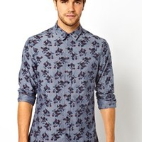New Look Shirt in Chambray Floral