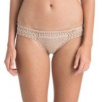 MALIKAH MINI HIPSTER CROCHET BIKINI BOTTOM - SALE