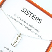 Sisters Charm Necklace Set