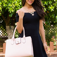 Shaylyn Off The Shoulder Dress - Black