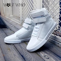 Winter Fashion Isabel Ankle Boots Botas Masculina Hombre Bota Masculina Military Tactical Height Increasing Mens Boots