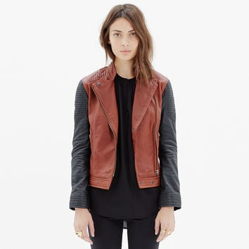 Quilted Leather Backroad Jacket
