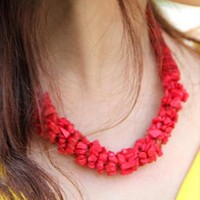 Red  necklace from Moonlightgirl