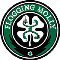 Flogging Molly Iron-On Patch Shamrock Logo