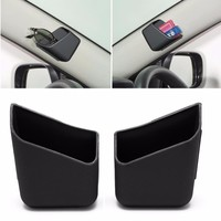 1 Pair Plastic Universal Car Auto Accessories Glasses Organizer Storage Box Holder 3 Colors