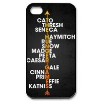 MY LITTLE IDIOT the hunger games Hard Plastic Back Protective Case for iphone 4, 4s