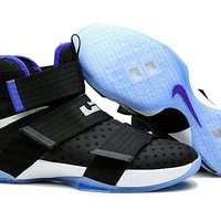 Tagre™ NIke Zoom LeBron James Soldiers 10 Slam Dunk Basketball Shoes