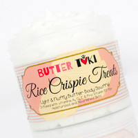 RICE CRISPIE TREATS Body Butter Soufflé 4oz - Clearance