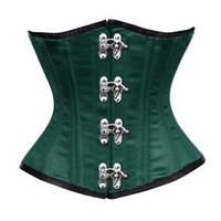 Charmed Green Underbust Corset