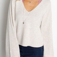 FREE PEOPLE Starman V Sweater