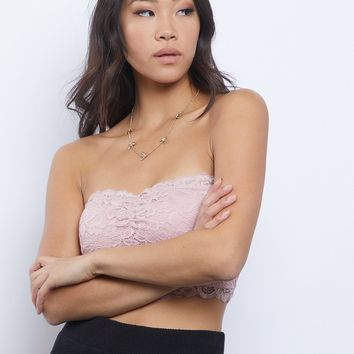 Just As You Are Lace Bandeau