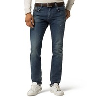 Bleach Straight Fit Jean | Tommy Hilfiger USA