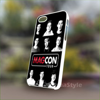 Magcon Tour - Personalized Case for iPhone 4/4s, 5, 5s, 5c, Samsung S3, S4, S3, S4 mini Pastic and Rubber Case.
