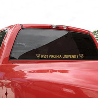 West Virginia Mountaineers Automobile Decal Strip