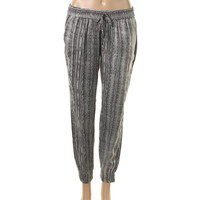 Paige Womens Silk Pull On Jogger Pants