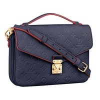 Louis Vuitton Monogram Empreinte Leather Pochette Metis Handbag Article: M44071 Made in France  Louis Vuitton Handbag