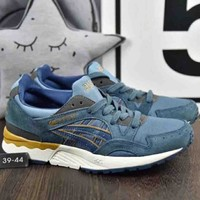 Asics Gel Lyte 2018 Tide Shoes Popular Pig Eight Retro Running Shoes F A36h My Blue