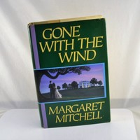 Gone With The Wind 1964 Hardback Book by Margaret Mitchell  w/ Dustjacket Vintage Summer Reading Classic MacMillan Publisher
