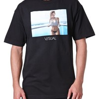 Visual by Van Styles PE Rung Out T-Shirt - Mens Tee - Black